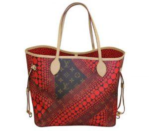 Louis Vuitton Kusama Pumpkin Minaudiere Bag 300x263 - những chiếc túi xách xa xỉ - đắc đỏ nhất thế giới